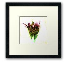 Inhale Thy Colour Framed Print