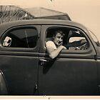 Boy racer -1966 family portrait.  by DanielKojta