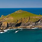 The Rumps Cornwall by David Wilkins