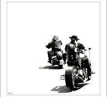 """American Bikers"" by Don Bailey"