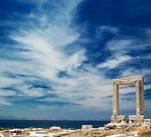 Portara of Naxos by makedon