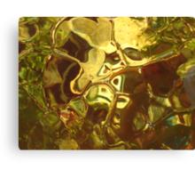 Gold ~ Glass Object © Canvas Print