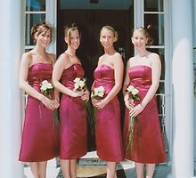 bridesmaids by Michelle Dry