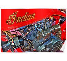 Indian 101 Scout 1928 Poster