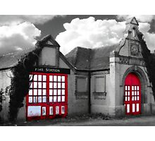The Old Firestation Photographic Print