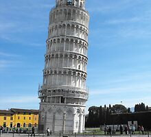 Leaning Tower of Pisa, Tuscany, Italy  by mozart