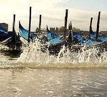 Venice Acqua Alta by Sturmlechner