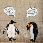 Penguin Graffiti by Myron Watamaniuk