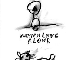 Two Women Here Tell a Good Story, Woman Living Alone, Kind Hearted Woman by ReBecca Gozion