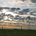 Windmill at Sunrise by Patrick Hickey