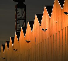 Industrial Abstract by Alan McMorris