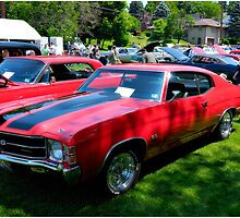 Red Chevy Chevelle SS by LocustFurnace