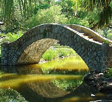 Stone Walking Bridge by Wanda Raines