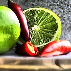 Lime & Chilli  by JHP Unique and Beautiful Images