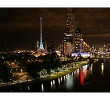 Melbourne skyline by kimryan