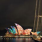Opera House - Vivid Sydney 2009 by fatdade
