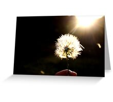 Wishes at my fingertips Greeting Card