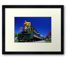 The End of the Line II Framed Print