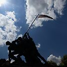 Iwo Jima Memorial by kathy s gillentine