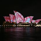 Sydney Opera House in Technicolour by Dennis Brown