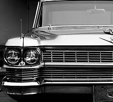 Caddy B&W by Mark Alfonso