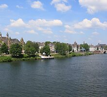 Maastricht from the River by theBFG