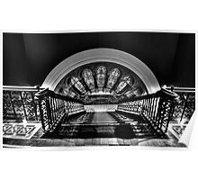 Steps, Shadow & Time - The Grand Staircase - QVB - The HDR Experience Poster