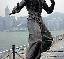 Statue of the Late Bruce Lee by John Mitchell