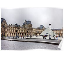 Louve Museum Poster