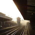 Sunday Morning, Train Station by Art Hut