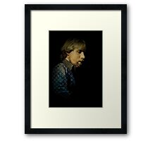 ...in the style of the old masters... Framed Print