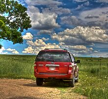 2008 Ford Expedition - Red by Jonathan Bartlett