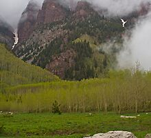 Cloudy Sievers Mountain by Paul Gana