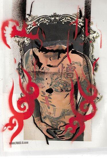 jonny with tatts 1 by jonnyriot
