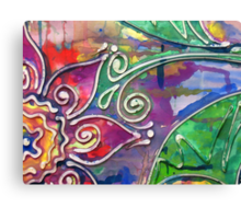 Colour me Softly (My first artwork sold on RB) Canvas Print