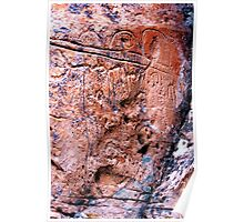 Nevada Petroglyphs Poster