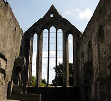 Ennis Friary window by John Quinn