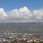 Lewiston Idaho Panorama View by DOUG TWEEDY