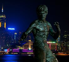 Bruce Lee - Hong Kong by philcraswell