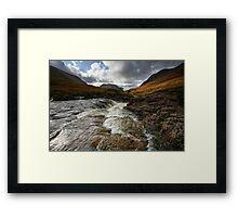 Glen Etive Framed Print