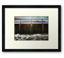 Time goes by Framed Print