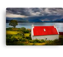 Loch Torridon, Summer Storm approaching. North West Scotland. Canvas Print