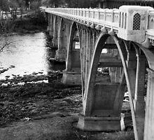 Winchester Bridge Over North Umpqua River by Chuck Gardner