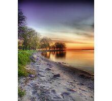 Purple Sunrise Photographic Print