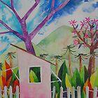 Pink Poui Parlour by gustinegirl
