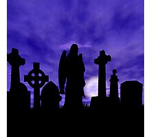 Beauty in the grave Photographic Print