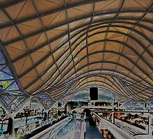 Southern Cross Railway Station, Melbourne by Keith Richardson