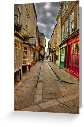 Shambles #1 - York by Trevor Kersley