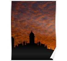 Sunset Over the Heritage Poster