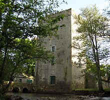 Yeats tower (Ballylee Castle) by John Quinn